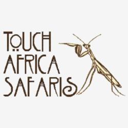 Touch Africa Safaris praying mantis Logo
